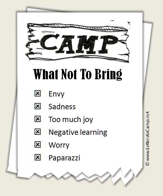 Letter-writing advice | Letters to Camp